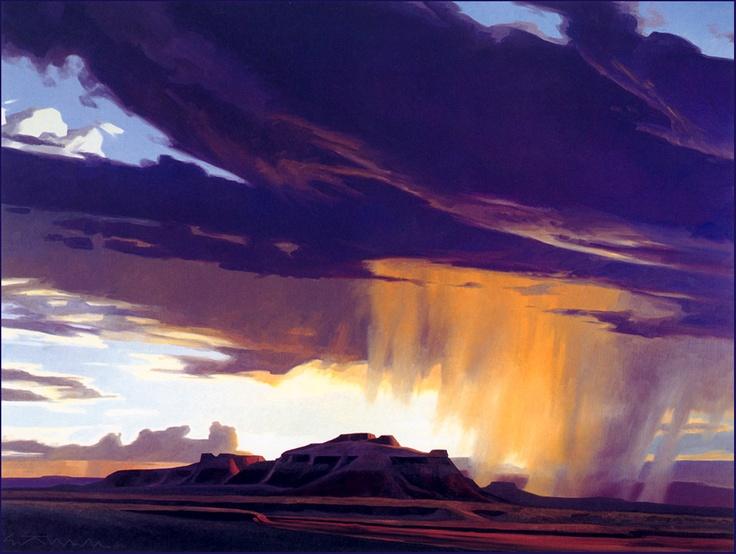 """""""Rainy Season"""", Ed Mell."""