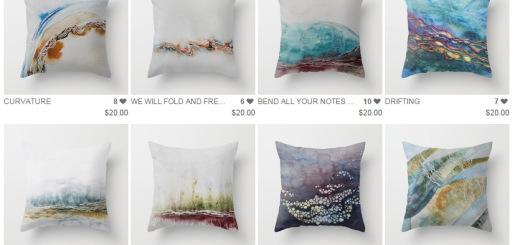 society 6 pillows