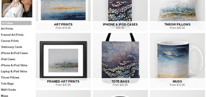 society 6 home page